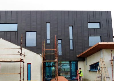 ICF and Metal Cladding