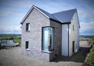 ICF and Slate Cladding