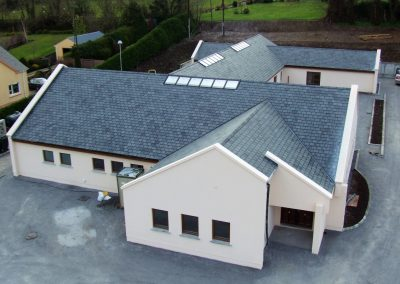 Slate Roof on an ICF house