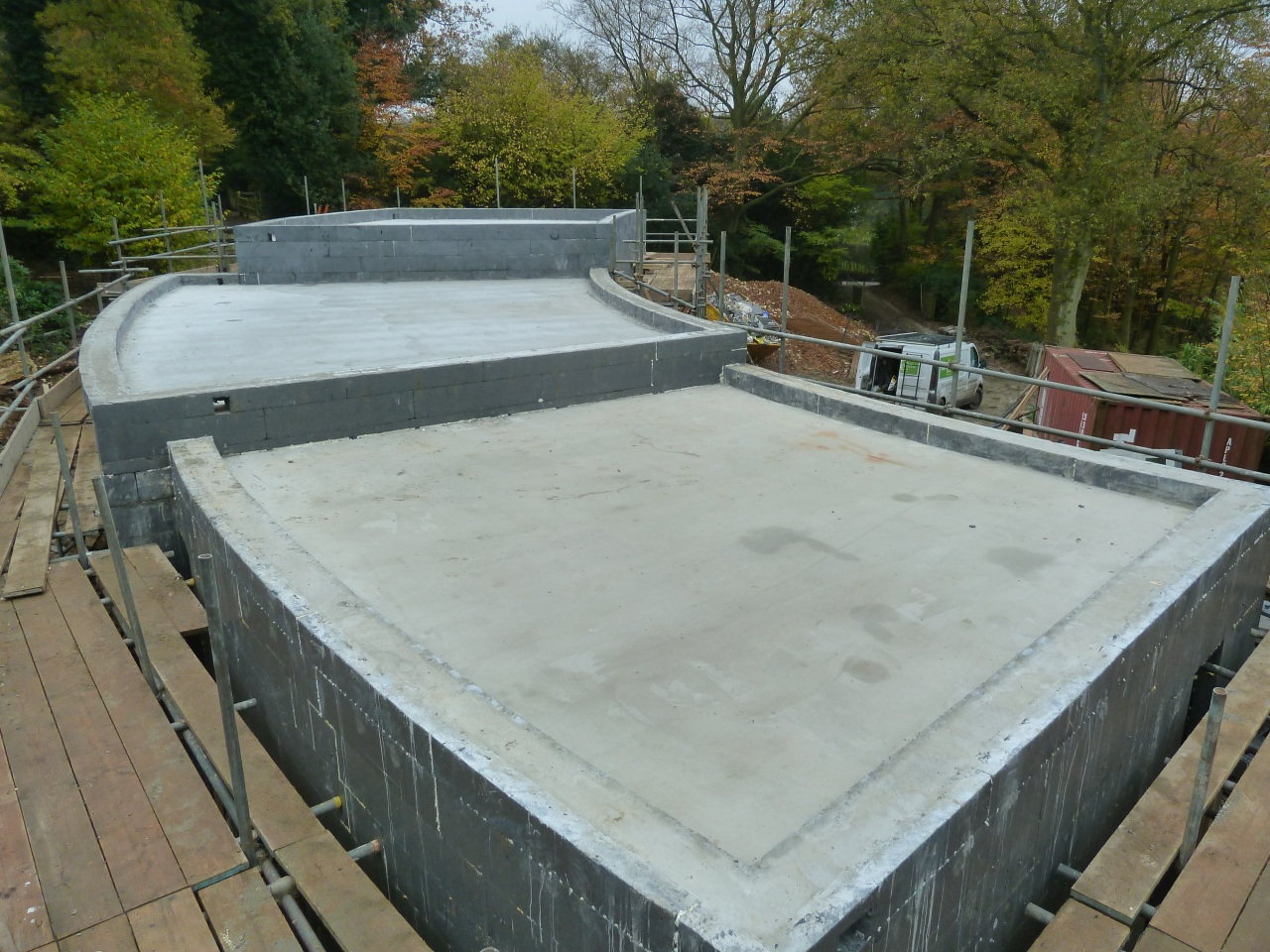 Energy Efficient Icf House In Kent Uk Thermohouse