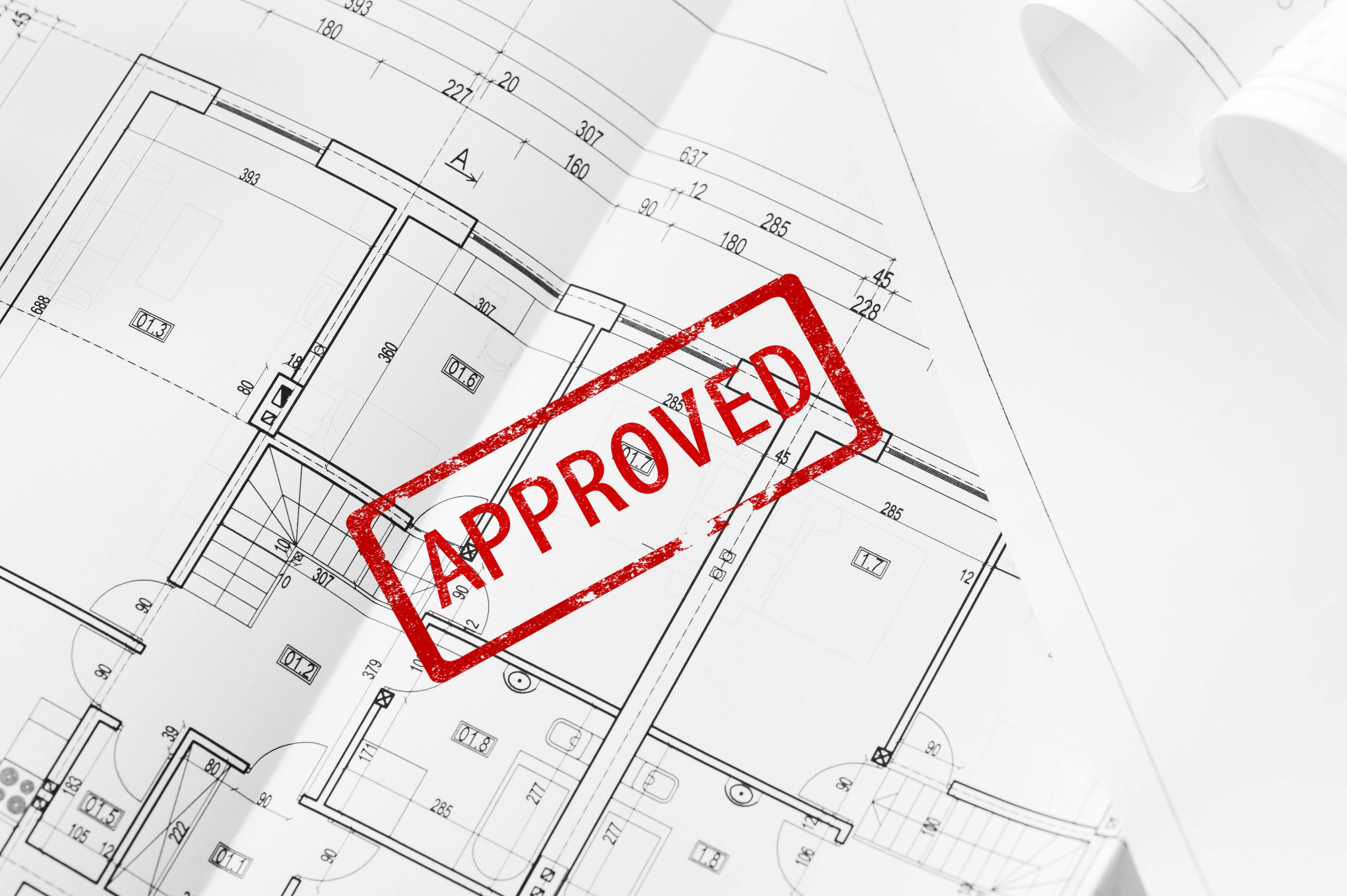 This is an image of approved planning permission