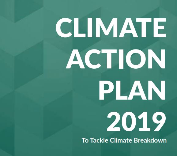 This is an image of Climate Action Plan 2019