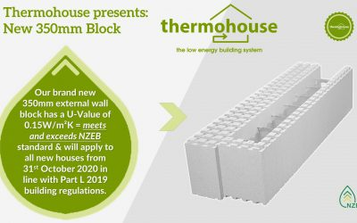 New 350mm External Wall Block