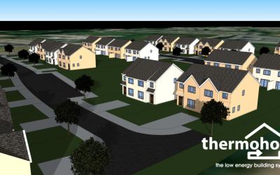 New low energy housing development:  Milltown, County Kerry
