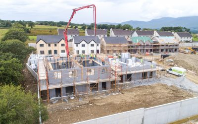 Thermohouse – Milltown; Rapid Build Housing Development | May – July 2021 update video