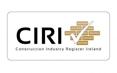 CIRI – Construction Industry Register Ireland 2021/2022
