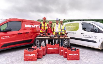 Thermohouse partners with Hilti Ireland